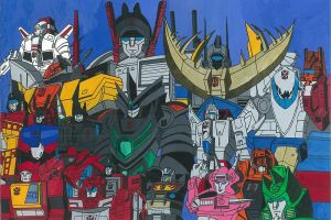 Transformers The Movie 2 Autobot Cast by amurowes