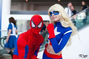 With Spiderman by PuppetsFall