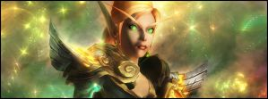 blood elf priest FB banner by Maladi