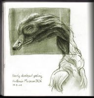 Nearly Developed Gosling by Nicoll