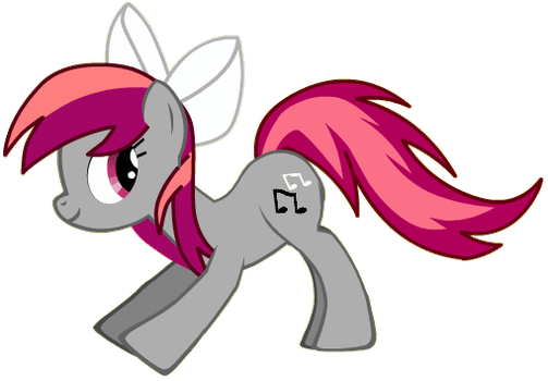 My OC Pony: Musical Magenta by SuperPaperBrony