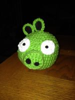 Green Pig by Tirrivee