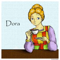 Dora and Her Tea by Ask-Dora