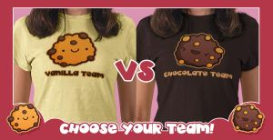 Cookie Tshirts by SquidPig