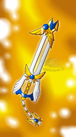 Keyblade Forge: Valkyrie Wings Keyblade by NWSaiyanX
