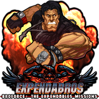Expendabros Broforce The Expendables Missions by POOTERMAN