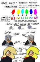 Never Use Primary Colors by Neilsama