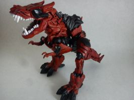 WIP Deadpool Dinobot 2 by boojigg3r