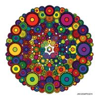 Mandala 39 - The Candy Edition by Mandala-Jim