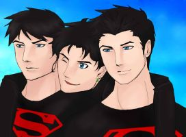 Superboys by minicooly