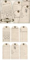 Printable Journaling Tags by VectoriaDesigns