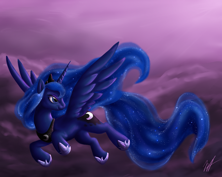 MLP: Princess Luna by MelvisMD