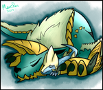 'Zinogre and Manectric 2' -- Commission by MerciResolution