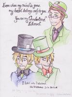 Even my mind is gone - Jervis Edward by ChaosTheDawn