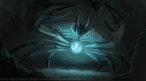 DAY 273. Giant Enemy Crab! (WIP. Part 1) by Cryptid-Creations