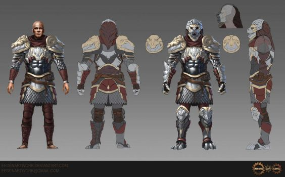 Chimera Armour Set by Eedenartwork