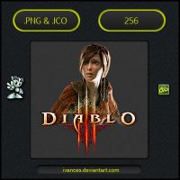 Diablo 3 Leah - ICON by IvanCEs