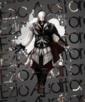 Ezio Auditore Paint by Daphnecool