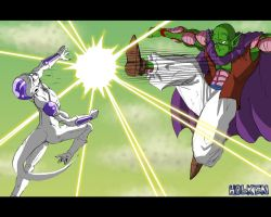 -DBM- Freeza VS Gast by DBZwarrior