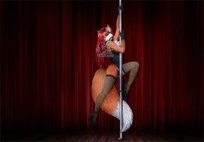 Vani - Poledance by Vani-Fox