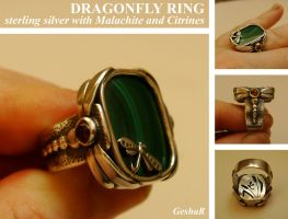 Dragonfly Ring by GeshaR