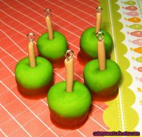 Scented Caramel Apple Charm by pinknikki