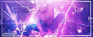 Spiderman + PSD FILE by EmDesignEmd