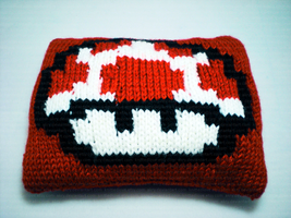 Toad Kinopio cushion by AKRY