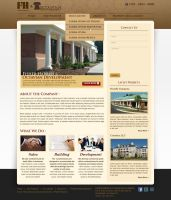 Fisher Harris website by treecore