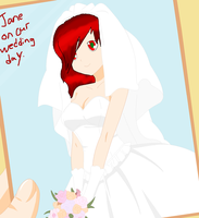 Jane on her Wedding Day by Born-Alive