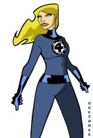 I is for the Invisible Woman by Gaston25