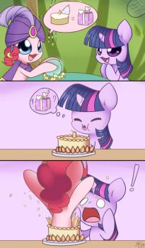Really Cool Birthday Present by Bukoya-Star