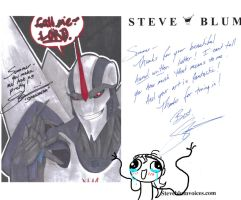 I love you, Steve Blum by Dino-blankey