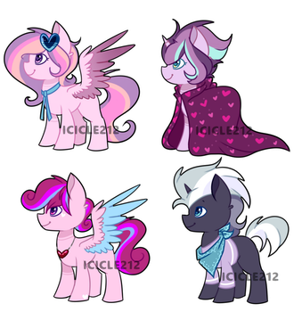 Flurry Heart x Rumble adopts [CLOSED] by Icicle212