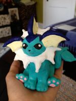 Vaporeon Sculpture by kimimaro-21