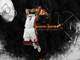 LeBron James by Mish-A-Man