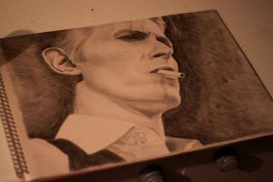David Bowie by baronvonchuck