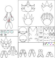 Sonic Character Maker 1 by Mephilez