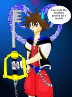 Poor, confused Sora by Stareon