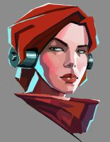 Invisible Inc. Internationale by Olieart