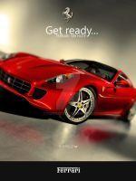 Ferrari 599 HGTE Poster by Forza27