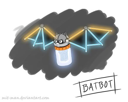 Needlemouse Batbot by Mit-Man