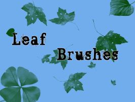 Photoshop Brushes: Leaves by AngelicWays