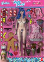 Katy Perry, California Gurl Barbie Doll by DevilishlyCreative