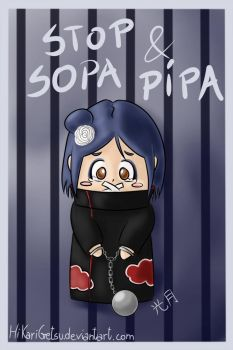 Stop SOPA and PIPA by TsukiTheRipper