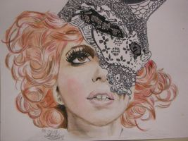 Lady Gaga by luffywow