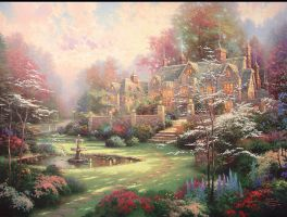 The Gardens of Time by DisneyliciousArt
