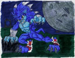 Sonic The Hedgehog - Unleashed by LigerPhoenix
