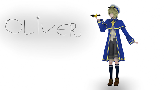Oliver Vidro Render by ThaamiChan