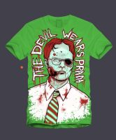 Zombie Dwight Scrute TDWP by KillerNapkins